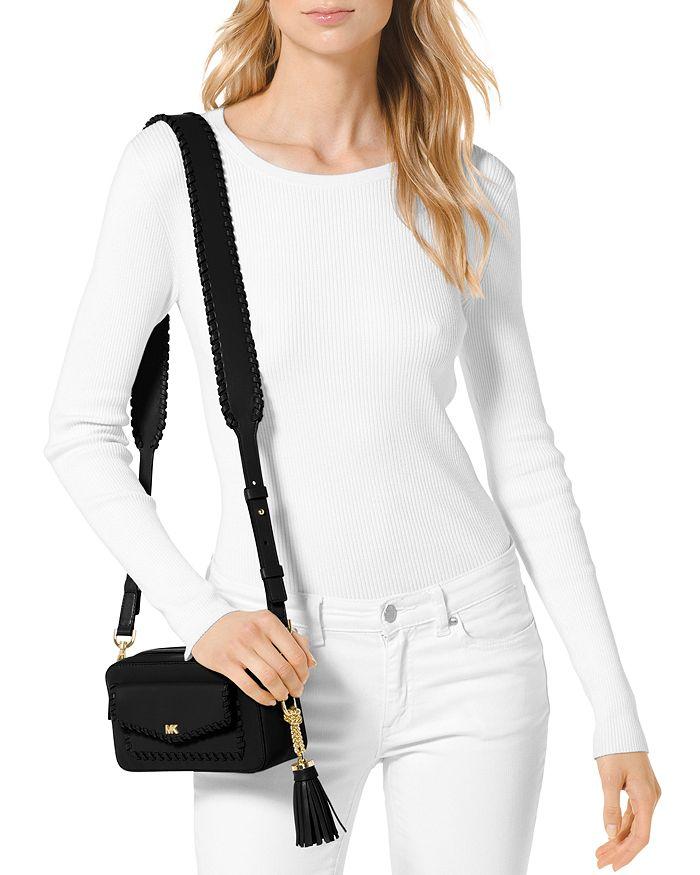 2c73542e4 MICHAEL Michael Kors Small Leather Pocket Camera Bag | Bloomingdale's