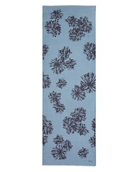 Max Mara - Schermo Floral Print Scarf