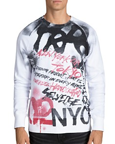 PRPS - Fabulous Graffiti Graphic Sweatshirt