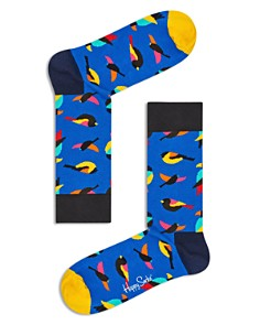Happy Socks Multicolor Bird-Print Socks - Bloomingdale's_0