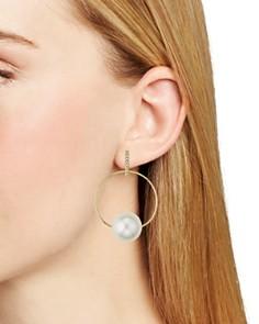 Rebecca Minkoff - Sophia Solar System Loop Drop Earrings