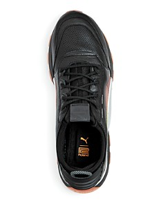 PUMA - Men's RS-0 Leather Lace Up Sneakers