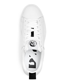 Diesel - Men's Clever Leather Lace Up Sneakers