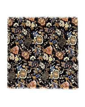Tory Burch - Happy Times Oversized Floral Print Scarf