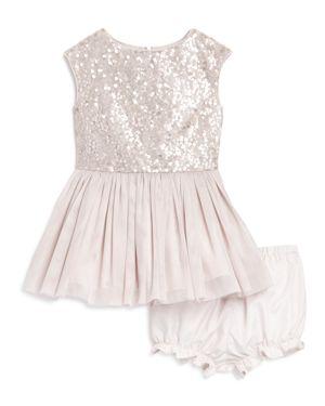 Pippa & Julie Girls' Sequin Tutu Dress & Bloomers Set - Baby