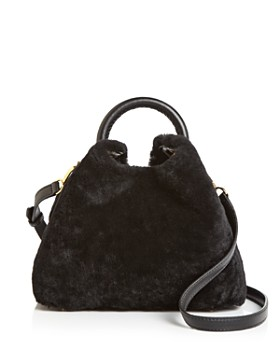 Elleme - Baozi Medium Shearling Crossbody