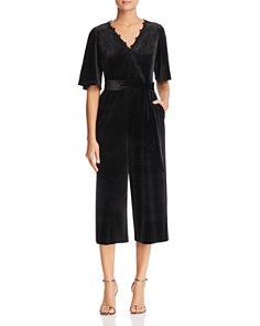 Le Gali - Essie Velvet Cropped Jumpsuit - 100% Exclusive