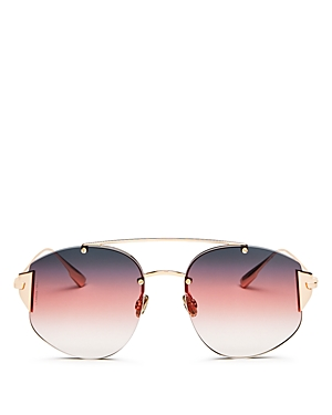 547e92e0143 19. Dior - Women s Stronger Mirrored Brow Bar Rimless Square Sunglasses 58mm-Jewelry  ...
