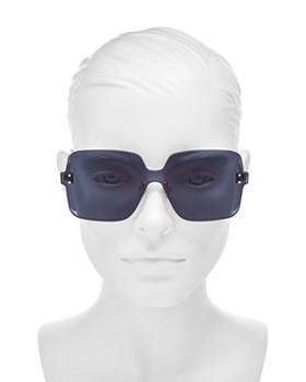 Dior - Women's Colorquake Oversized Square Rimless Sunglasses, 99mm