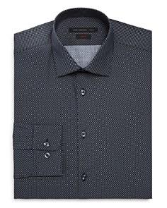 John Varvatos Star USA - Micro-Diamond Slim Fit Dress Shirt