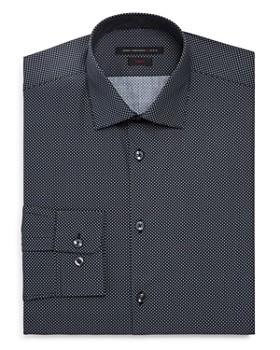 John Varvatos Star USA - Micro-Diamond Slim Fit Dress Shirt