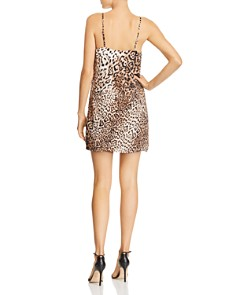 Re:Named - Leopard-Print Mini Dress