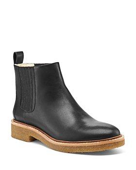Botkier - Women's Chelsea Leather & Faux-Fur Booties