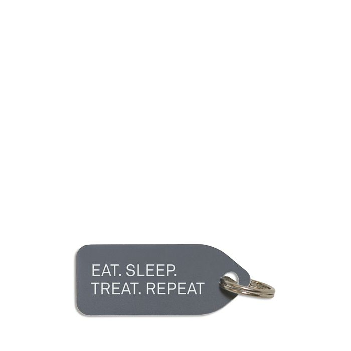 Growlees - Eat Sleep Treat Repeat Dog Tag
