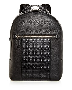 Salvatore Ferragamo - Firenze Gamma Embossed Leather Backpack