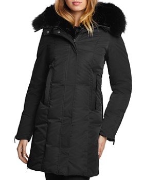 Dawn Levy - Luna Fur Trim Down Coat