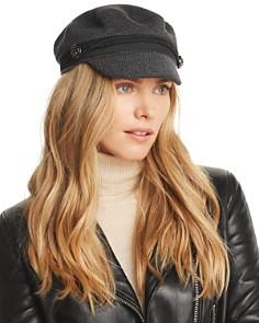 August Hat Company Herringbone Flat Cap - Bloomingdale's_0