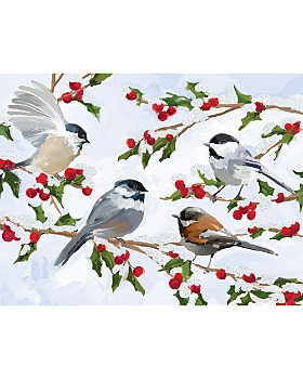 Design Design - Birds on Tree Greeting Cards, Box of 20