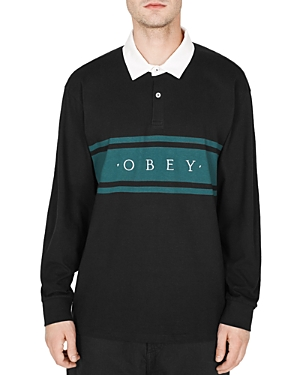 Obey Hero Classic Long-Sleeve Polo Shirt