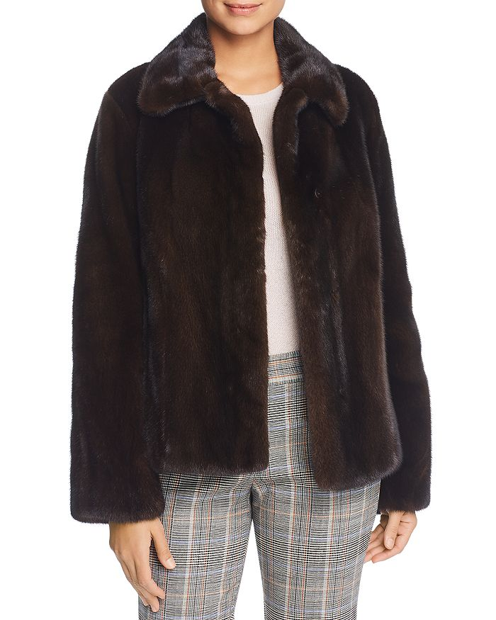 Maximilian Furs - x Zac Posen Short Mink Fur Coat - 100% Exclusive