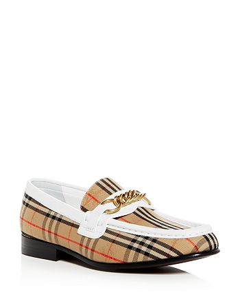 Burberry - Women's Moorley 1983 Check Link Loafers