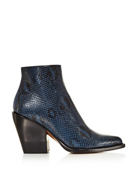 Chloé - Women's Rylee Pointed Toe Booties