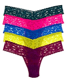 Hanky Panky - Low-Rise Thongs, Set of 5 - 100% Exclusive