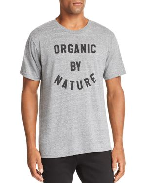 ALTRU Organic By Nature Graphic Tee in Grey