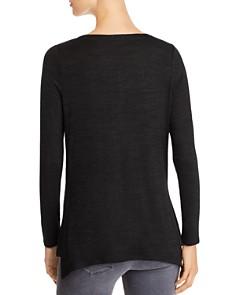 NIC and ZOE - Every Occasion Split-Hem Tunic Sweater