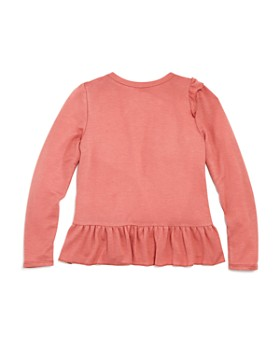 AQUA - Girls' Ruffle-Detail Top, Big Kid - 100% Exclusive