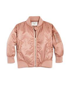 297e65839c60 Splendid Girls  Gramercy Faux-Fur Bomber Jacket - Little Kid ...