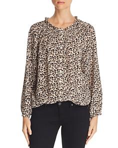 Rebecca Taylor - Leopard-Printed Silk Top