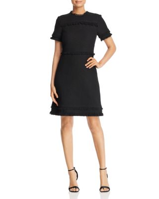 Fringed Tweed Dress by Kate Spade New York