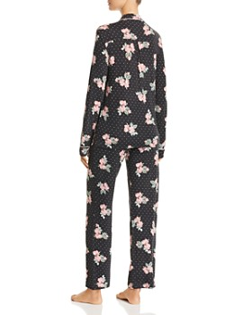 PJ Salvage - Luxe Affair Floral Dot Jersey Pajama Set