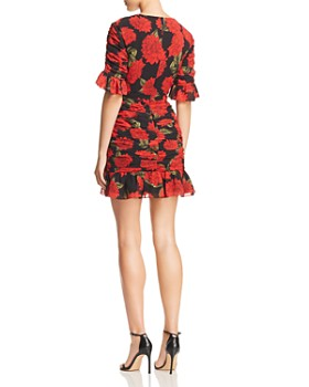 Keepsake - Find You Floral Mini Dress