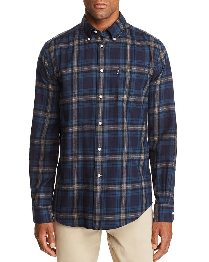 Barbour - Stapleton Highland Check Tailored Fit Button-Down Shirt