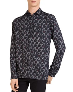 The Kooples - Arabesque Regular Fit Button-Down Shirt
