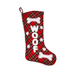 Bloomingdale's Tartan Tufted Dog Stocking - 100% Exclusive_0