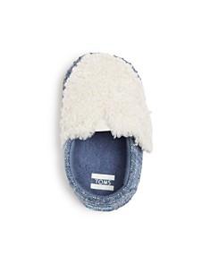 TOMS - Unisex Alpargata Chambray Crib Shoes - Baby