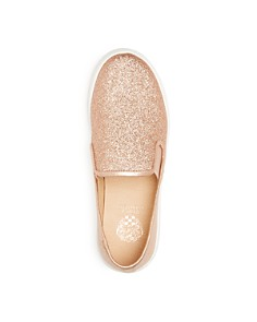 VINCE CAMUTO - Girls' Bestina Glitter Slip-On Sneakers - Toddler, Little Kid, Big Kid