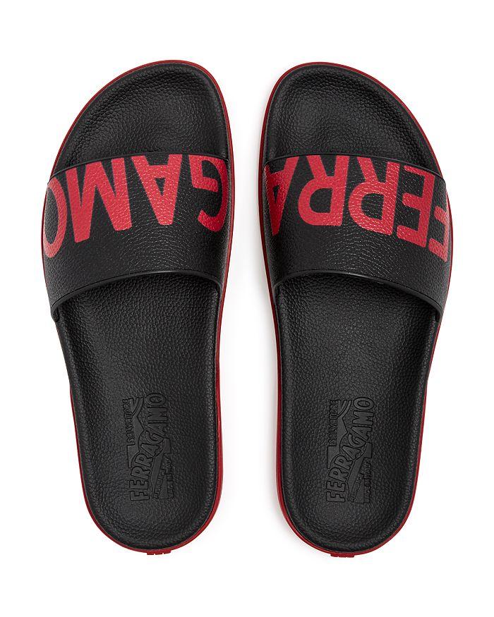 87fcb5cef Salvatore Ferragamo - Men s Amos Slide Sandals