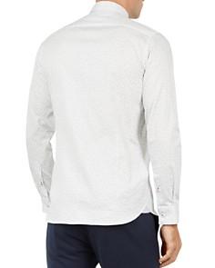 Ted Baker - Finsbur Floral Print Regular Fit Button-Down Shirt
