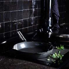 "GreenPan - SimmerLite 12"" Cast Aluminum Ceramic Nonstick Open Fry Pan"