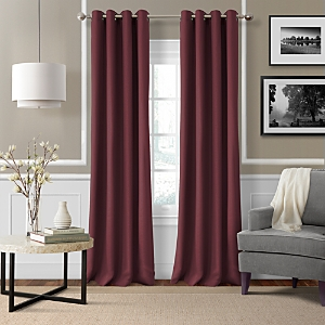 Elrene Home Fashions Essex Solid Curtain Panel, 50 x 95