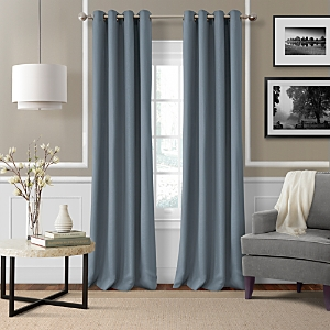 Elrene Home Fashions Essex Solid Curtain Panel, 50 x 84