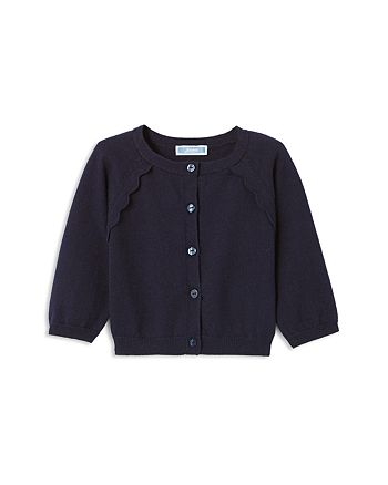 Jacadi - Girls' Scalloped-Trim Cardigan - Baby