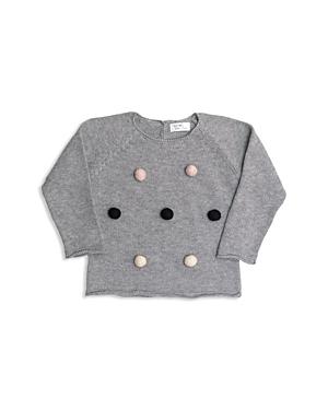 Tun Tun Girls Knit PomPom Sweater  Baby