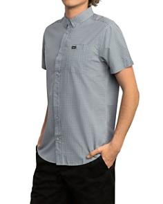 RVCA - Check Slim Fit Button-Down Shirt