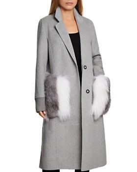 Dawn Levy - Natalie Fur Pocket Coat