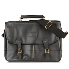 Barbour Leather Briefcase - Bloomingdale's_0